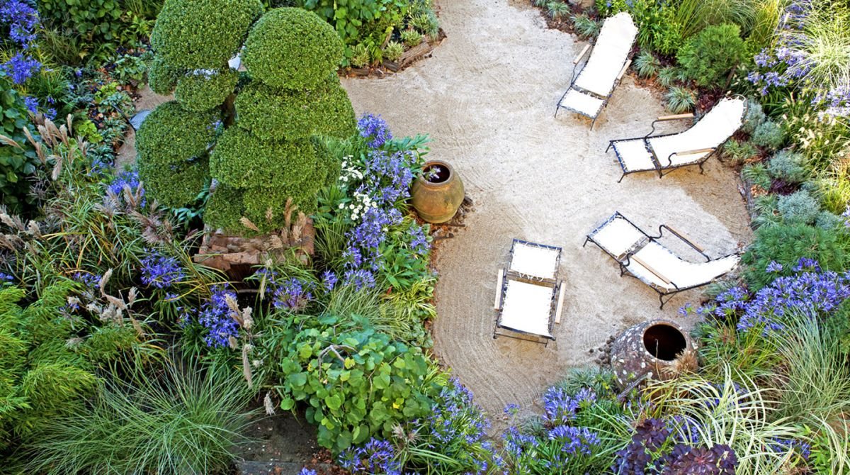 Jardin Agapanthe Par Alexandre Thomas Architecte Paysagiste